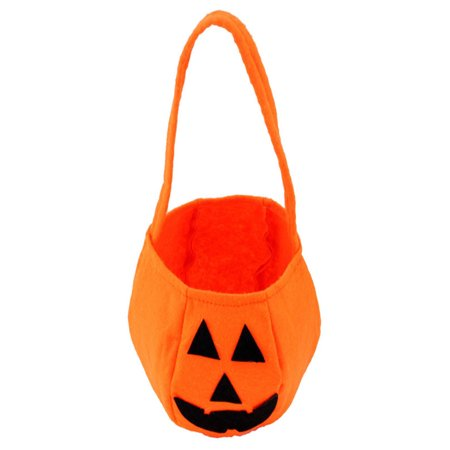 Sayhi Fashion Halloween Smile Pumpkin Bag Kids Candy - Carlton Halloween