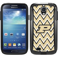 Purdue Sketchy Chevron Design on OtterBox Commuter Series Case for Samsung Galaxy S4