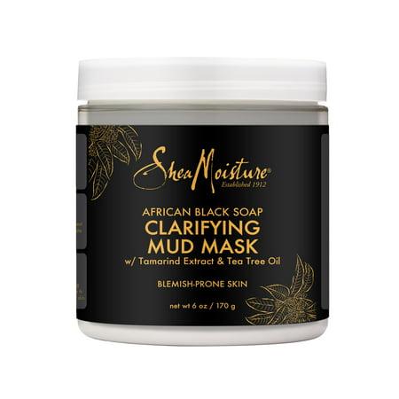 All Black Mask (SheaMoisture African Black Soap Clarifying Mud Mask, 6)
