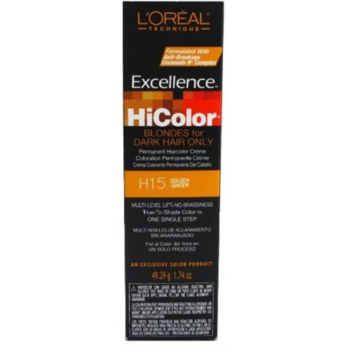 L'Oreal Excellence HiColor Golden Ginger, 1.74 oz (Pack of 2)