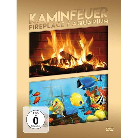 Fireplace / Aquarium (DVD) (Fireplace Aquarium Dvd)