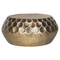 Safavieh Roxanna Coffee Table, Antique Brass