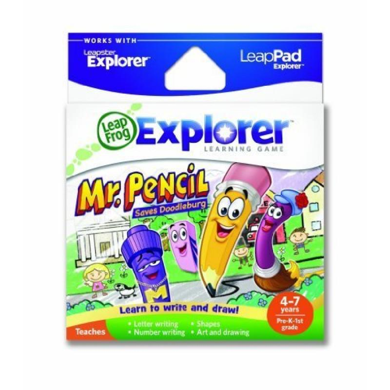 Toy / Game LeapFrog Explorer's Learning Game: Mr. Pencil Saves Doodleburg (works w/ LeapPad & Leapster Explorer)