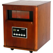 Optimus Infrared Quartz Heater with Remote Control and LED Display