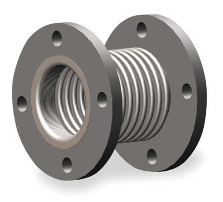 HOSE MASTER EJSSPFL0800 Metal Expansion Joint, 8 In Dia, 6 In L