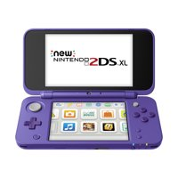 New Nintendo 2DS XL System w/ Mario Kart 7 Pre-installed, Purple & Silver