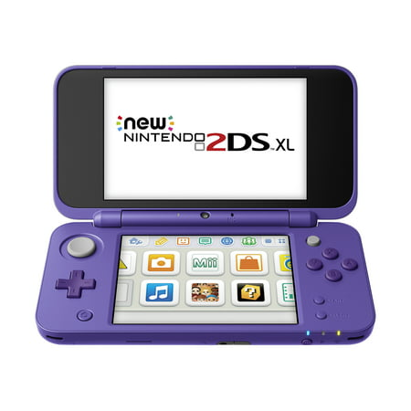 New Nintendo 2DS XL System w/ Mario Kart 7 Pre-installed, Purple & Silver, JANSVBDB ()