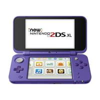 New Nintendo 2DS XL System w/ Mario Kart 7 Pre-installed, Purple & Silver