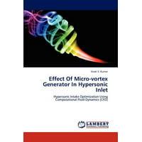 Effect of Micro-Vortex Generator in Hypersonic Inlet