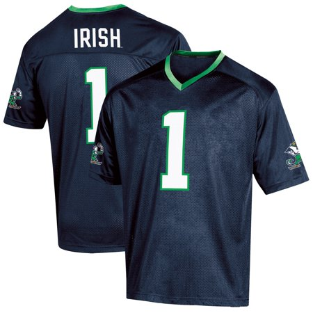 Youth Russell Athletic Navy Notre Dame Fighting Irish Replica Football Jersey