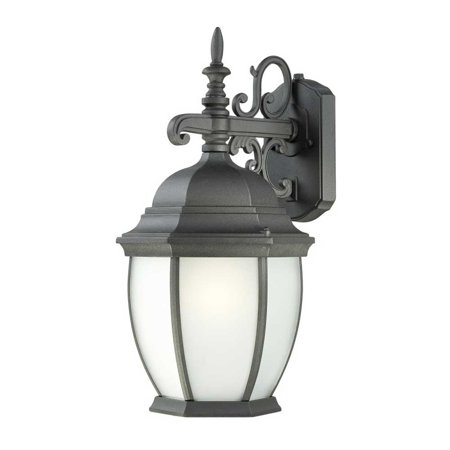 Covington Two Light (Thomas Lighting PL92287 Covington Outdoor Wall 1-Light  Lantern Black)