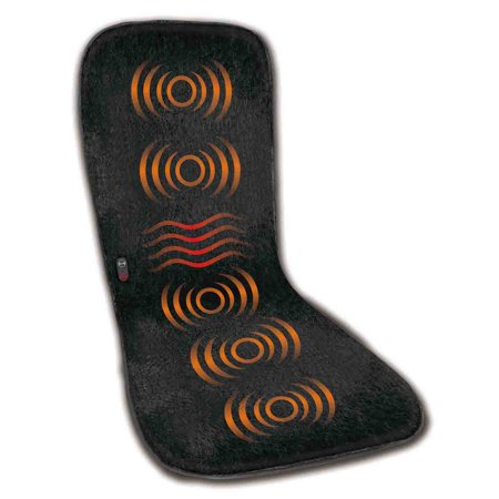 Health Touch Double-Sided Full Body Massage Mat with Soothing Heat
