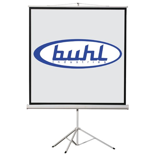 Hamilton Buhl Matte White Portable Projector Screen