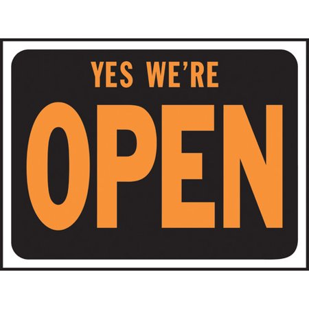 Hy Ko Yes We Re Open Sign Set Of