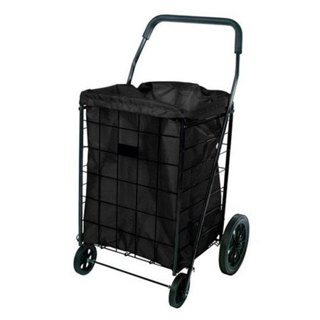 Apex  24 in. H x 18 in. W x 15 in. L Black  Collapsible Shopping Cart Liner SHOPPING CART LINER