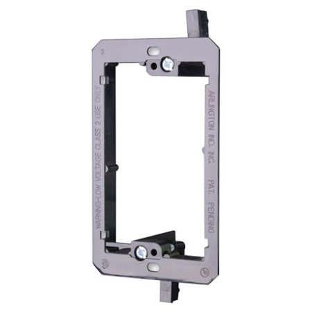 Gang Bracket (Vanco Single Gang Low Voltage Wall Bracket [lv-1] )