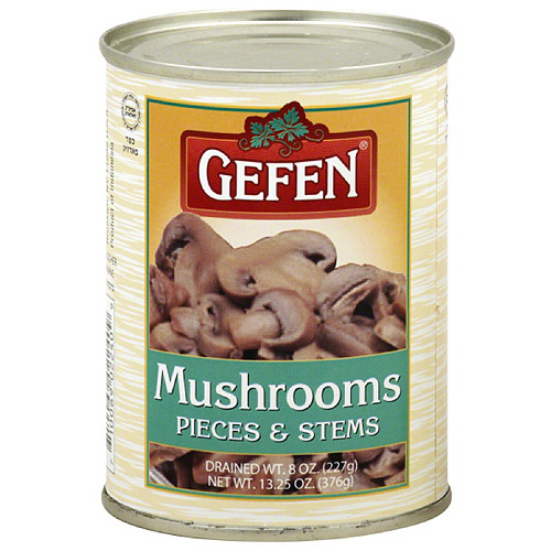 Gefen Mushroom Pieces & Stems, 8 oz (Pack of 24) by Gefen