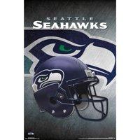 Seattle Seahawks Helmet 22'' x 34'' Logo Poster