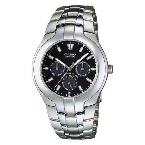 Casio Men's Multi-Function Analog Watch, Silvertone Bracelet
