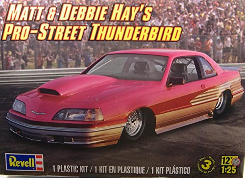 Revell Matt & Debbie Hays Pro Street T-Bird Plastic Model Kit Multi-Colored by Revell