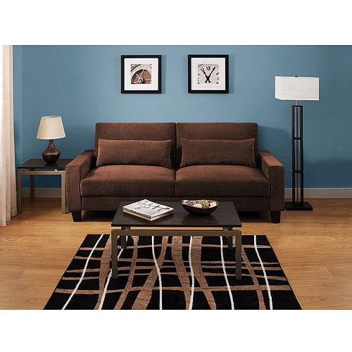 hometrends banquette convertible futon sofa bed walmart com