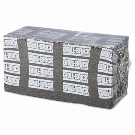 Boardwalk Grill Brick, 8 x 4, Black, 12 Grill Bricks