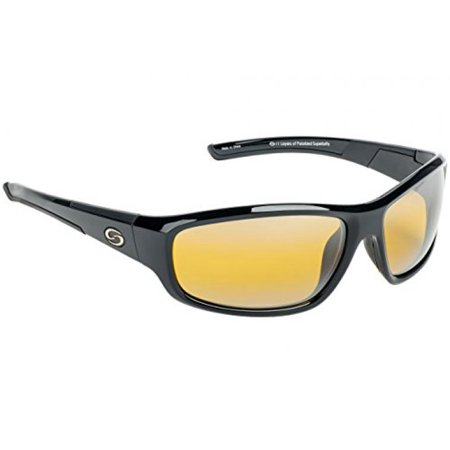 SGS1175 Strike King Polorized Sunglass, S11 Black & (Sunclouds Sunglasses)