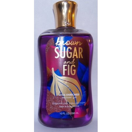 Bath and Body Works Brown Sugar and Fig Shea Enriched 10 oz Shower Gel