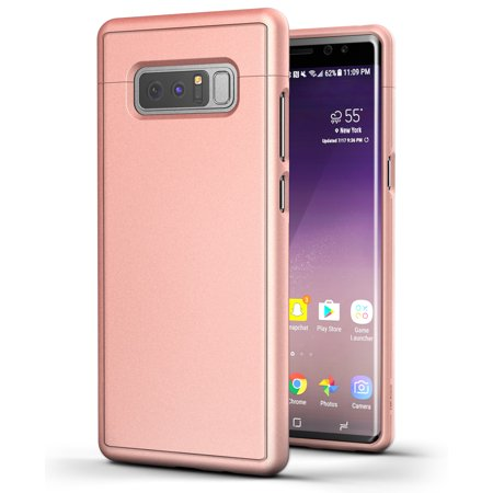 quality design 9ec1b cfd2a Galaxy Note 8 Slim Case, Encased [SlimShield Edition] Protective Grip Case  for Samsung Galaxy Note 8 (Rose Gold)