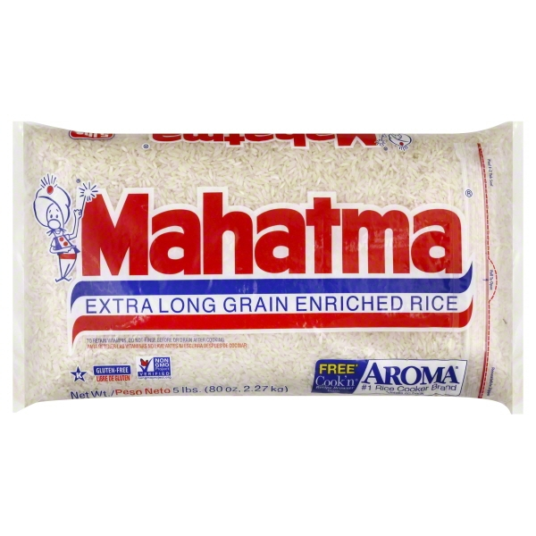 Mahatma Extra Long Grain Enriched Rice 5 Lb Bag Walmart Com