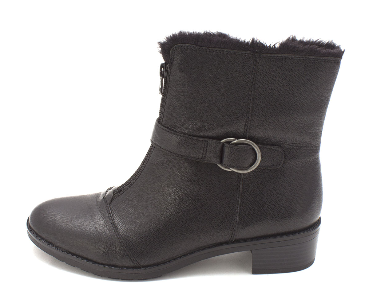 Naturalizer Womens Madera Leather Closed Toe Ankle Fashion Boots by Naturalizer
