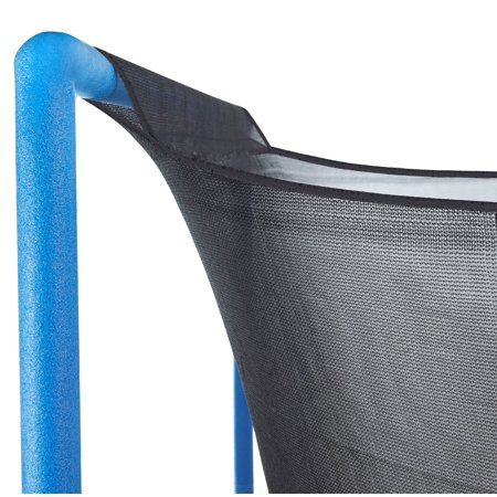 Upper Bounce 12 ft. Trampoline Enclosure Safety Net Fits For 12 FT. Round Frames Using 4 Arches  with Sleeves on top (poles not included) - image 4 of 5