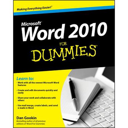 Word 2010 for Dummies (Using Table Of Contents In Word 2010)