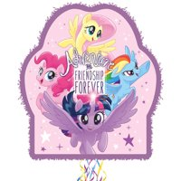 Ya Otta Pinata Pull String My Little Pony Pinata, Birthday Party Activities, 2lb Filler Capacity, 18 x 3 x 21 1/2 Inches