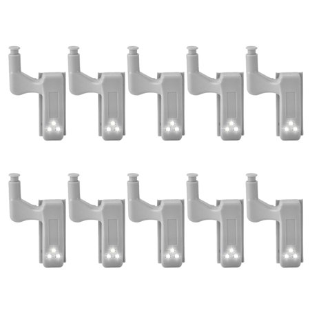 Back To Search Resultsfurniture 10 Pcs Inner Hinge Led Under Cabinet Light Universal Wardrobe Light Sensor Inner Hinge Lamp For Cupboard Closet Kitchen 1 Set