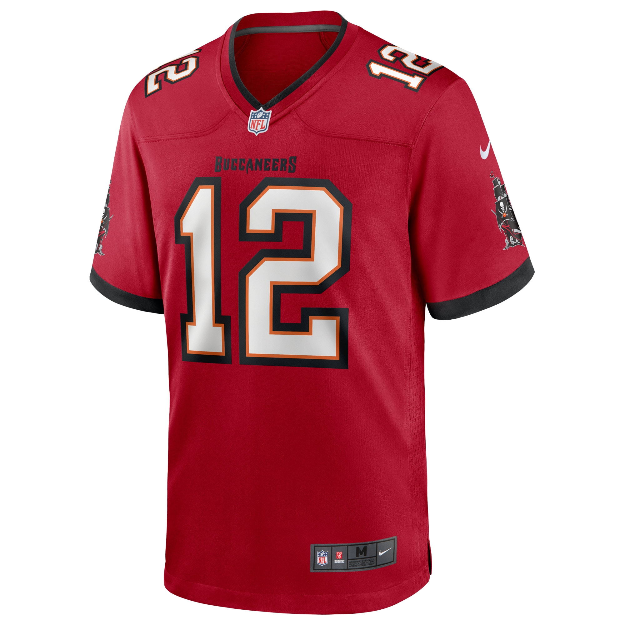 Tom Brady Tampa Bay Buccaneers Nike Game Player Jersey - Red