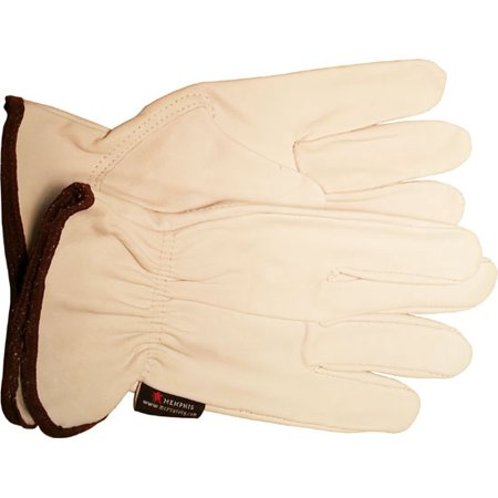 Goatskin Leather (Premium Goatskin Leather Work Gloves (Sold by Dozen) Size Large)