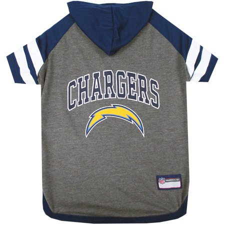 Pets First NFL San Diego Chargers Pet Hoodie Tee Shirt