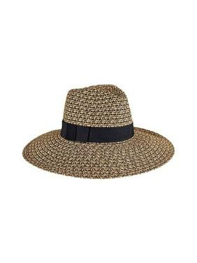 66e7aded007771 Free shipping. Product Image Women's San Diego Hat Company Mixed Ultrabraid  Fedora UBL6493 Black Mix One Size ...