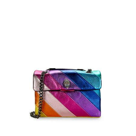 Kensington Rainbow Leather Shoulder Bag ()