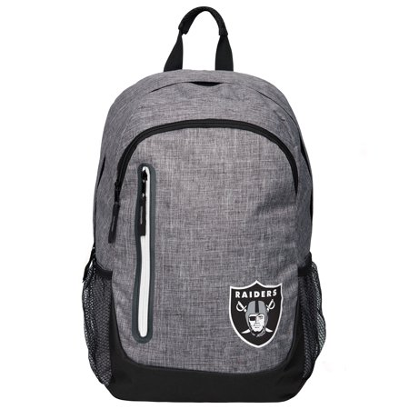 Forever Collectibles - Heather Grey Bold Color Backpack, Oakland -