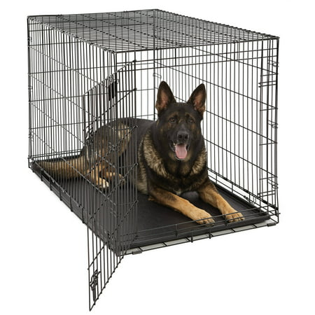 Midwest Life Stages Single Door Dog Crate (Midwest Life Stages Double Door Dog Crate)