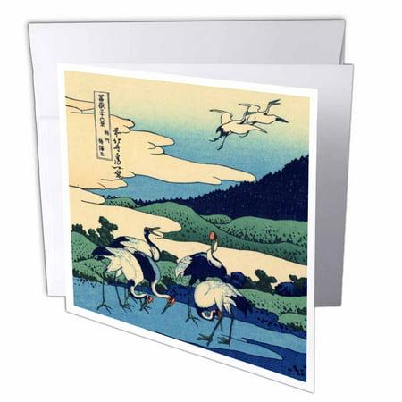 3dRose Umegawa in Sagami Province by Hokusai - Japanese fine
