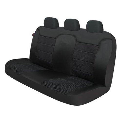 Dickies Xl Truck Titanium Rear Seat Cover Black Walmart Com