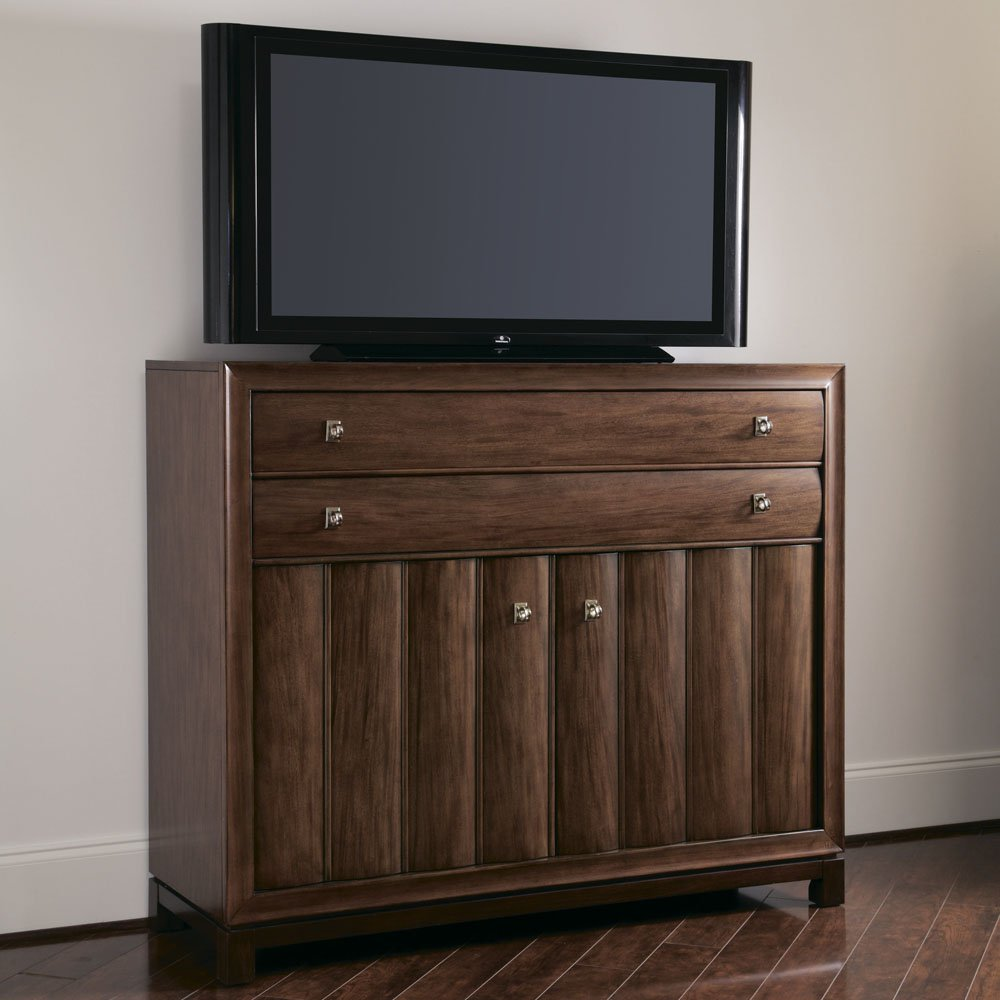 American Drew Miramar 2 Door Media Chest in Auburn on Prima Vera