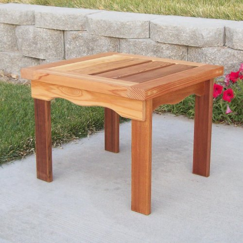 Wood Country T&L End Table - 19L x 20W x 16H in.