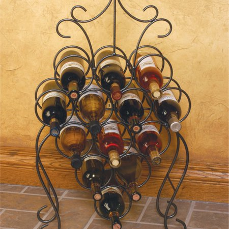 J & J Wire Victorian Wine Rack