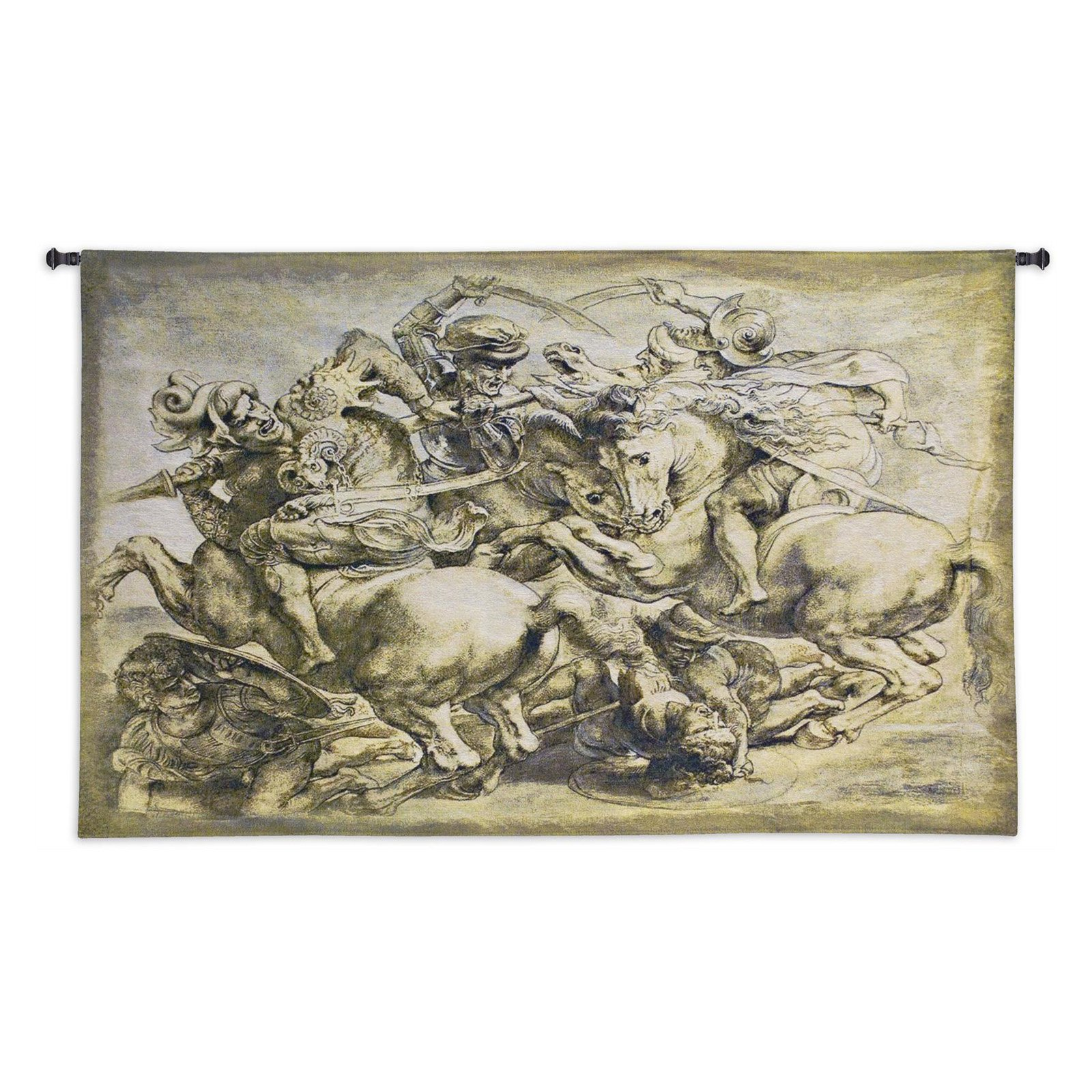 Fine Art Tapestries The Battle Of Anghiari Wall Tapestry by Supplier Generic