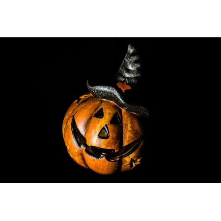 LAMINATED POSTER Decoration Pumpkin Holiday Scary Fun Halloween Poster Print 24 x 36