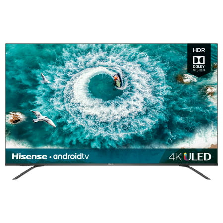 "Hisense 65"" Class 4K Ultra HD (2160P) HDR10 Android Smart LED TV (65H8F)"